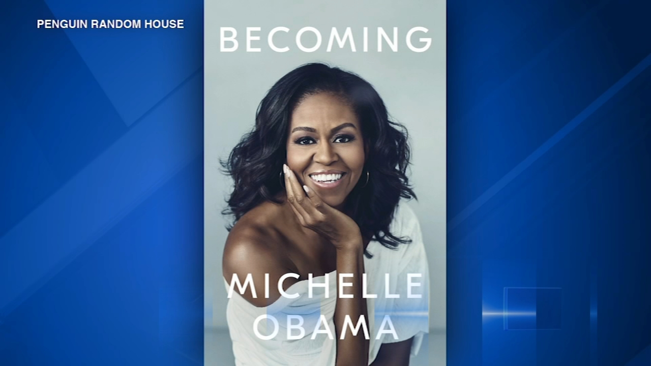 Former first lady Michelle Obamas memoir Becoming hits store shelves November 13.