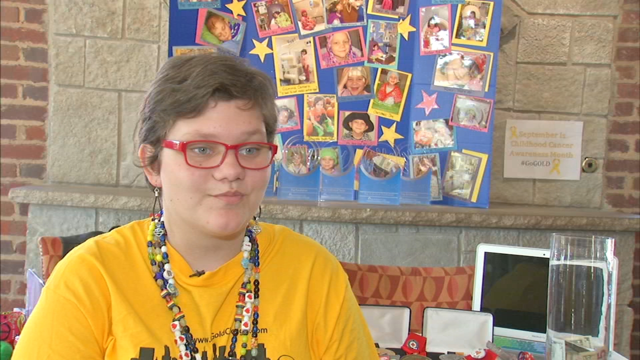 Rosie Colucci, of Palatine, battles brain cancer. She also collects and distributes toys for children in the hospital as part of Rosies Toy Box.