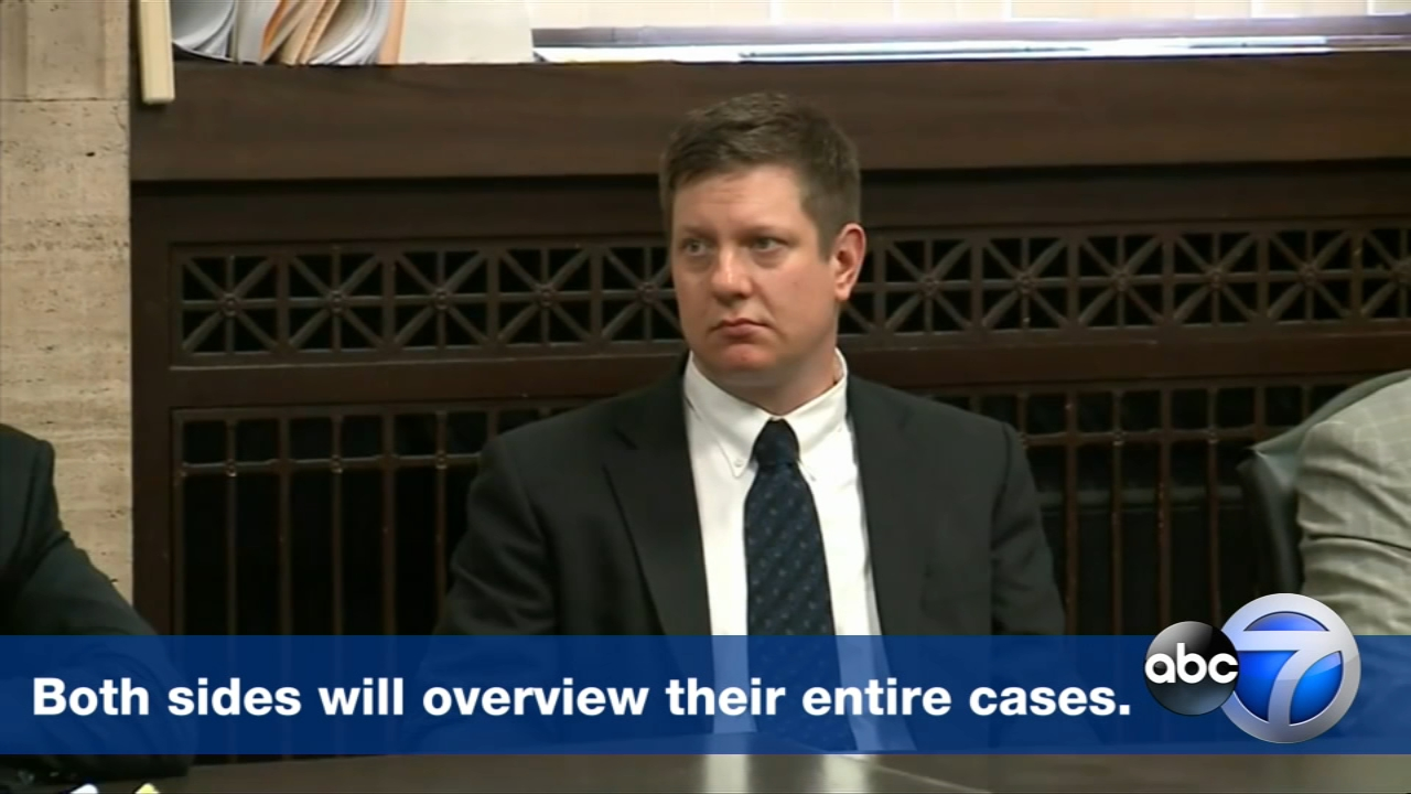 Today we hear opening statements in the murder trial of Chicago Police Officer Jason Van Dyke.