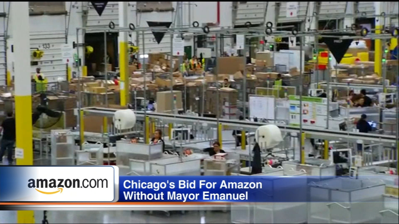 With Mayor Rahm Emanuel not running for re-election, is Chicagos chances at landing Amazons HQ2 in jeopardy?