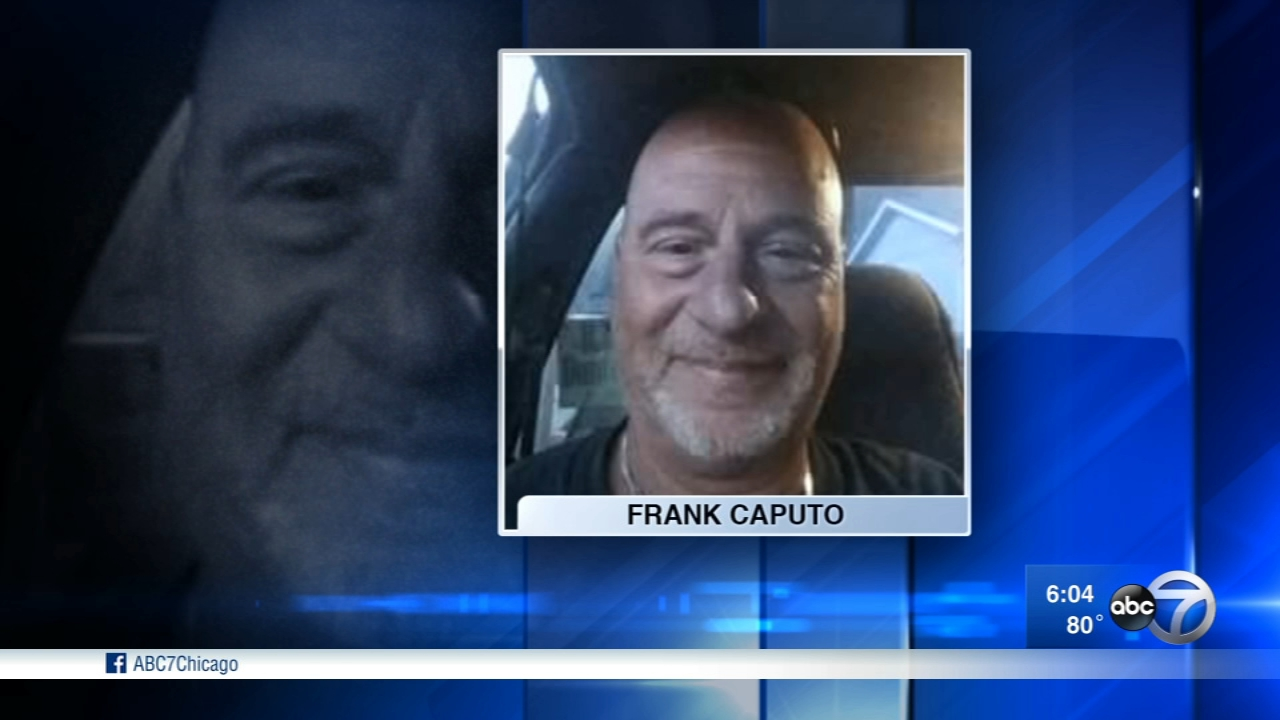 A driver swerved into a construction zone on I-294, killing construction worker Frank Caputo, 59, of Bartlett.