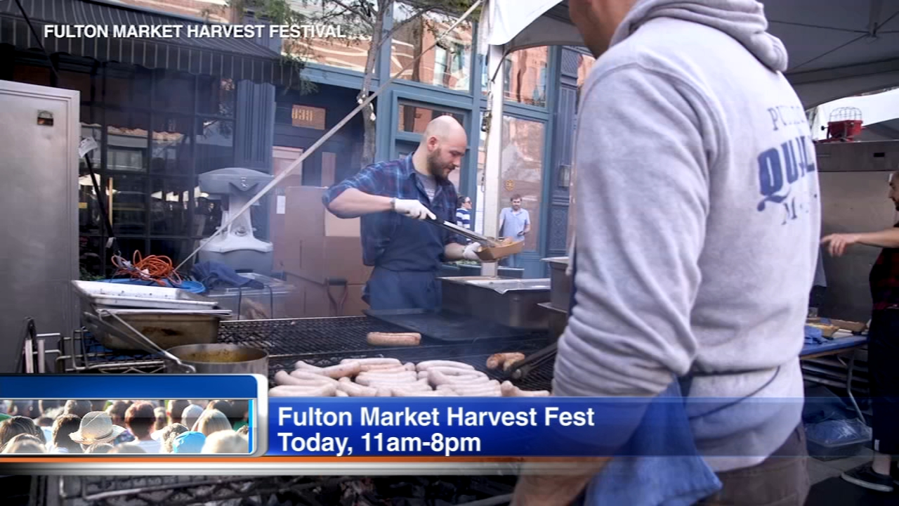 The Fulton Market Harvest Fest finishes Sunday.