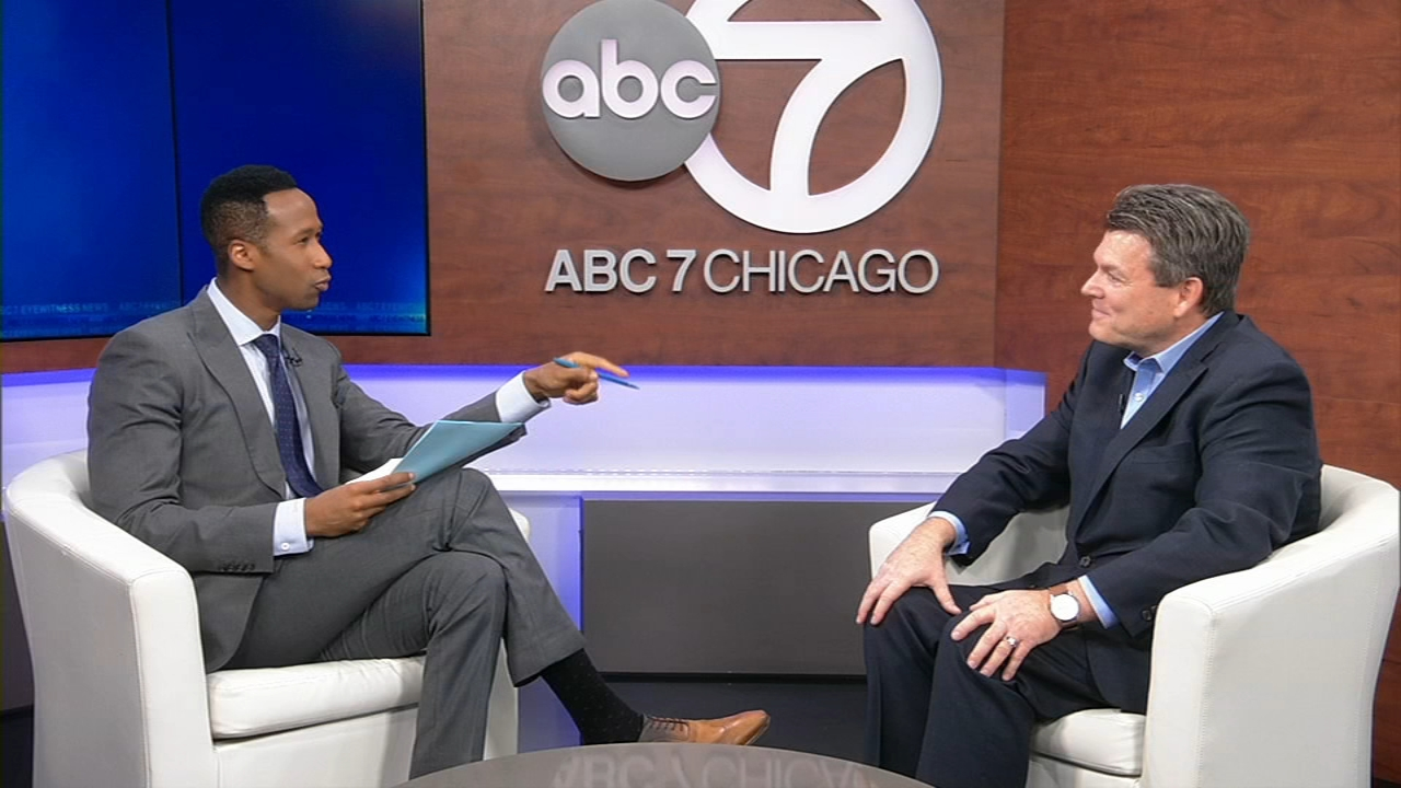 Steve Wolfe of the Addison Group visited ABC7 to discuss the job search for college seniors.