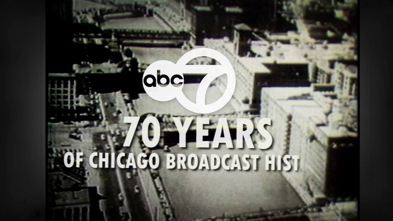 Take a look back at the last seven decades of Chicago broadcast history.