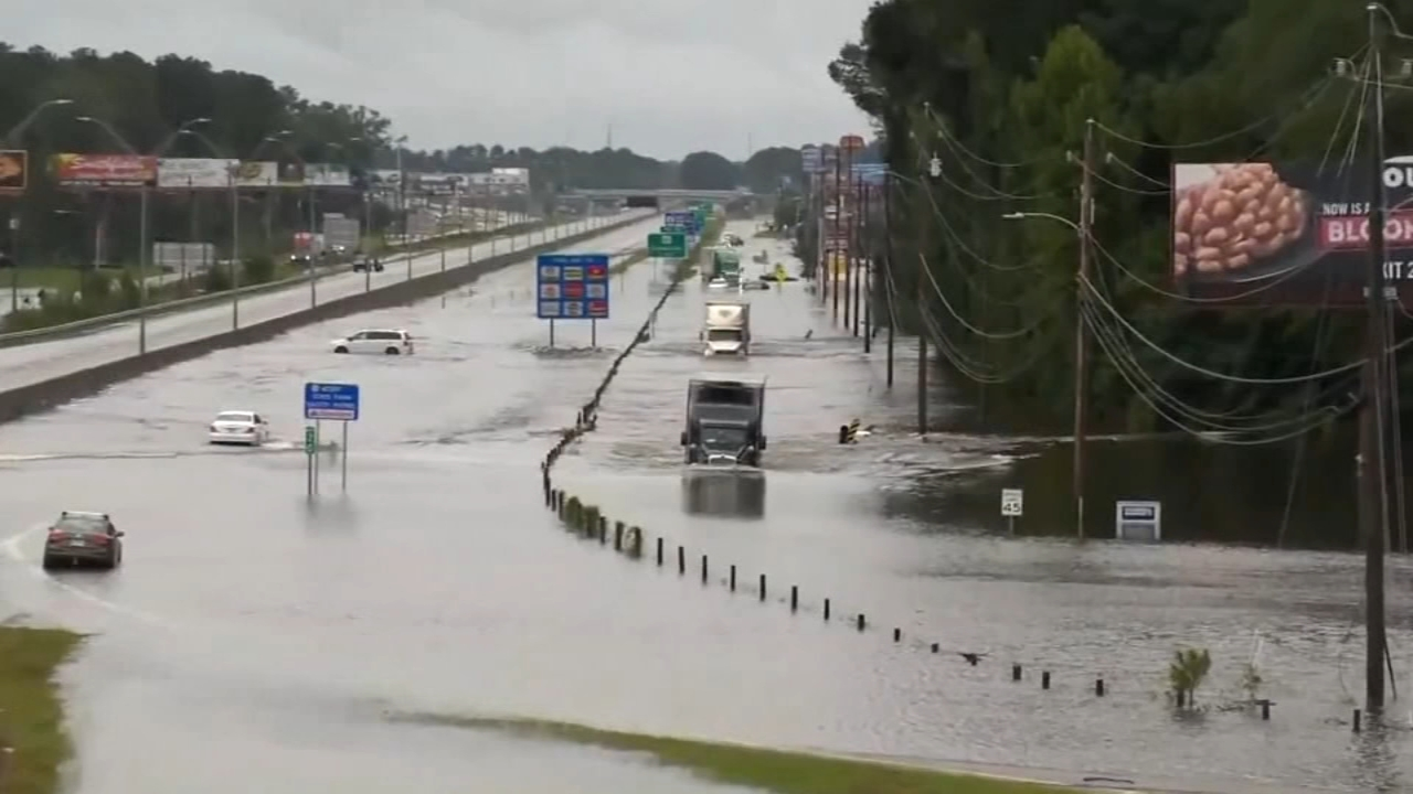 Its been days of relentless rain in the Carolinas. In Wilmington, the water has limited access to the city for days.