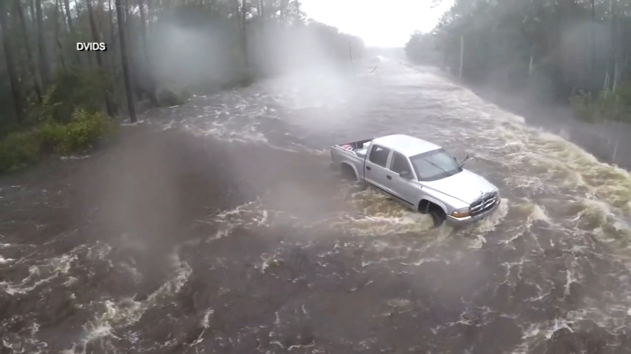 The effects of Florence continue to get worse in North Carolina.