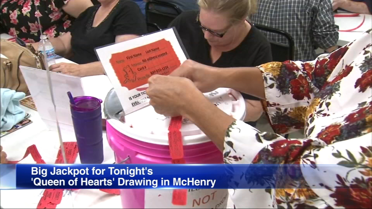 One way or another, someone will be the winner of the McHenry Queen of Hearts drawing Tuesday night.