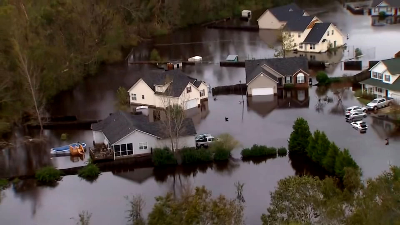 Five days after Hurricane Florence made landfall in the Carolinas, water rescues are still going on.