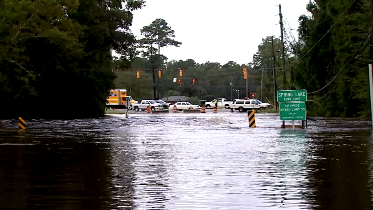 Catastrophic flood waters from Florence continue to rise in the Carolinas.