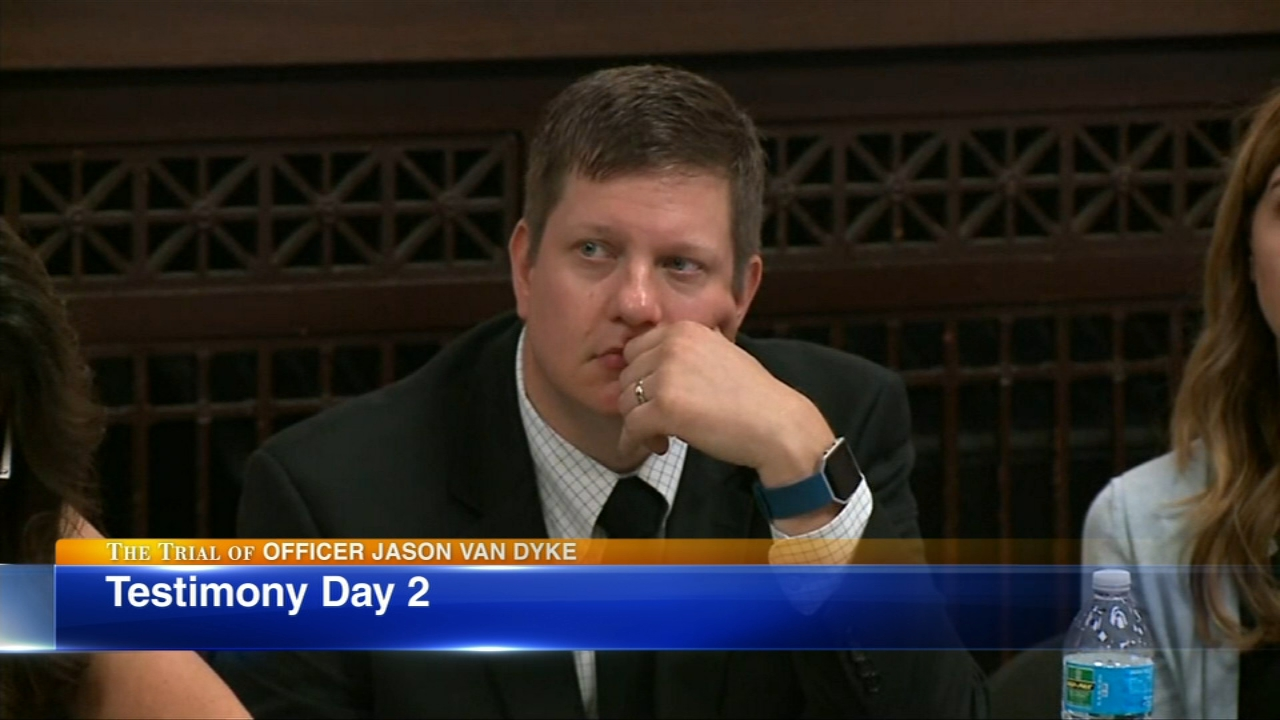 Tuesday will be the second day of testimony in the trial of Chicago Police Officer Jason Van Dyke.