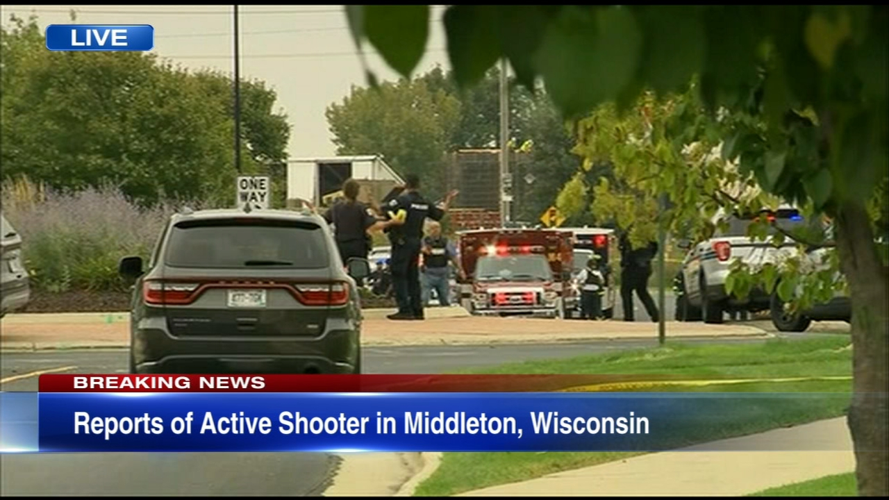 An active shooter situation has been reported near Madison, Wisconsin.