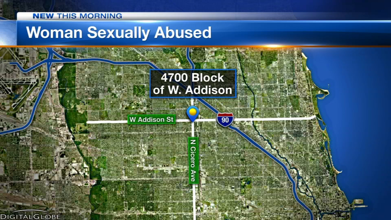 Chicago police have issued an alert about a man wanted for sexually abusing a woman on the Northwest Side Monday night.