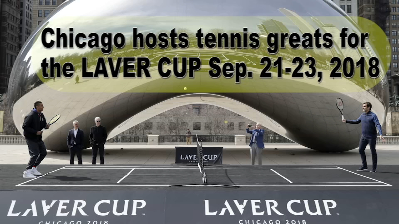 Chicago will host the second edition of the Laver Cup tennis tournament this weekend.
