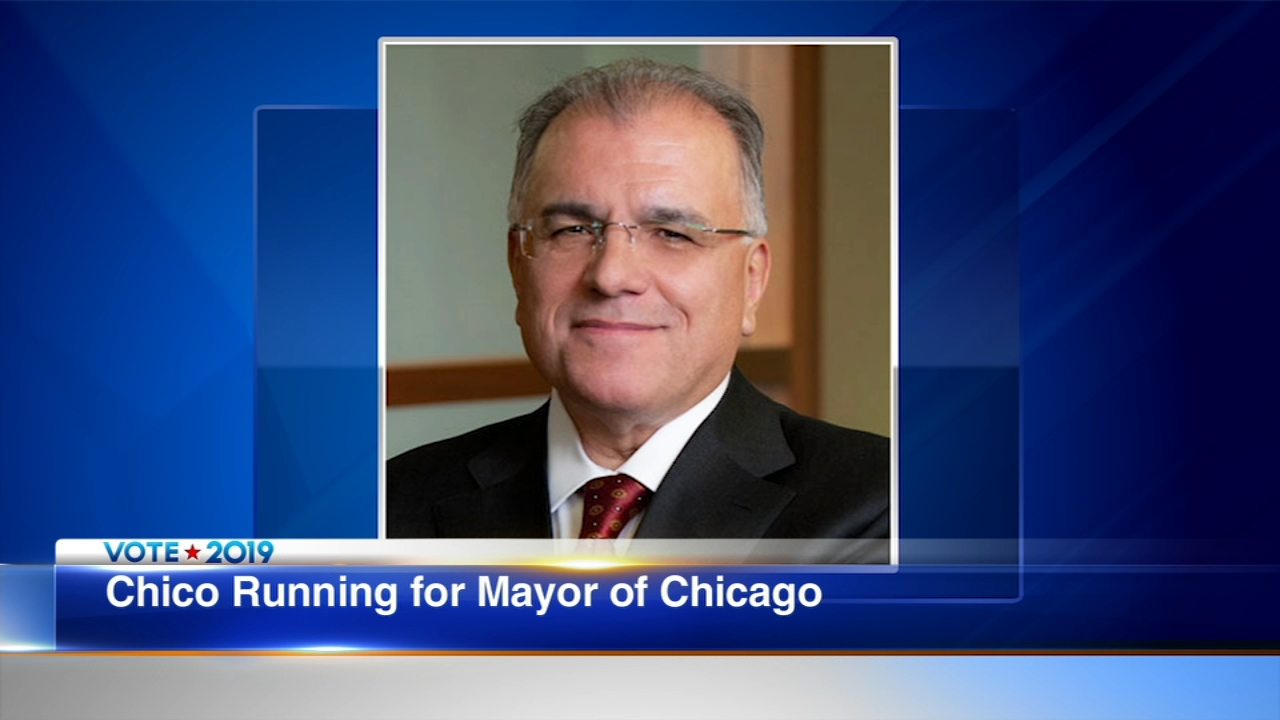 Gery Chico has announced that he is running for mayor of Chicago.