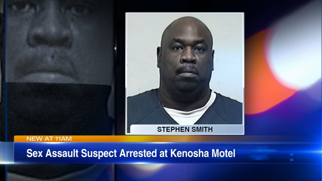 A north suburban man wanted for sexually assaulting a 16-year-old Illinois girl over the summer at a Wisconsin motel was arrested Wednesday.