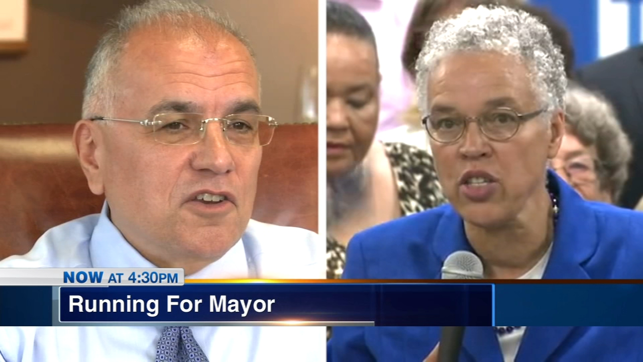 Two political veterans are the latest candidates to join the crowded field running for Mayor of Chicago. Toni Preckwinkle and Gery Chico announced their candidacies Thursday.