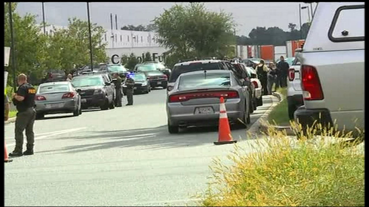 A shooting took place in Aberdeen, Maryland Thursday.