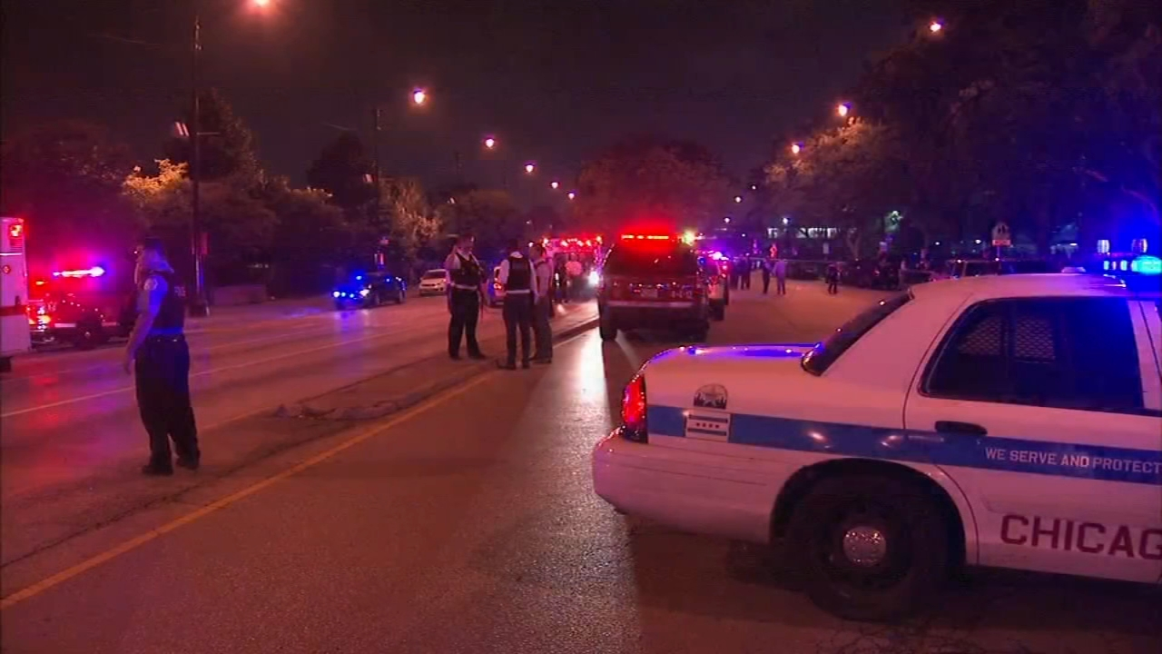 Four people, including a 6-month-old baby and a 13-year-old girl, are recovering after a shooting in the South Loop Wednesday night, Chicago police said.