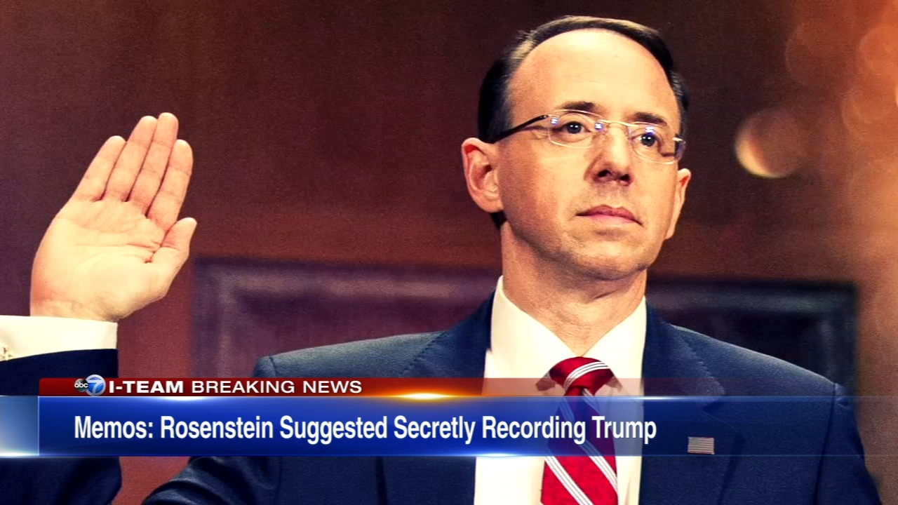 President Donald Trump appointed Rod Rosenstein as deputy U.S. attorney general. Since then, there has been a rocky road between the two men.