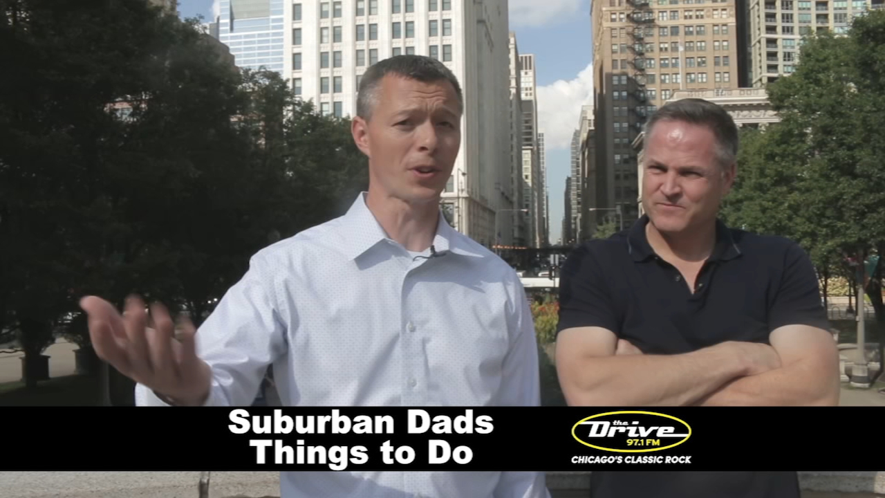 Are you looking for things to do this weekend? Two well-known suburban dads, Sherman and Tingle from 97.1 FM The Drive, have partnered with ABC 7 Chicago to share some fun ideas.
