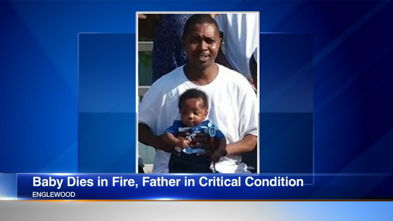 A 7-month-old baby boy was killed in a South Side house fire early Sunday, just one day after his parents got married.