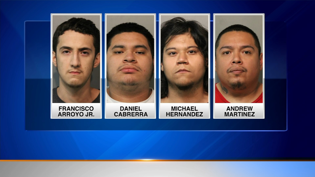 Four Chicago men face felony charges after they allegedly kidnapped another man last week in south suburban Oak Lawn and took him to Englewood.
