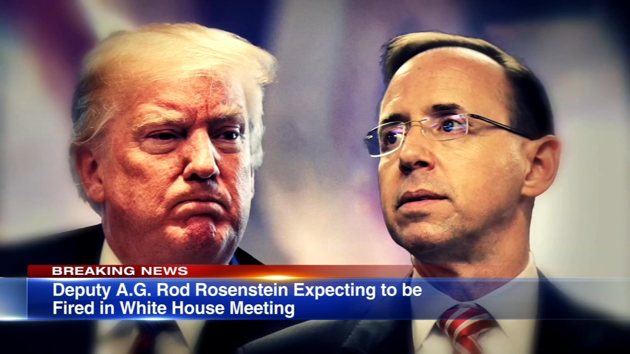 Deputy Attorney General Rod Rosenstein is expecting to be fired, several sources told ABC News Monday.