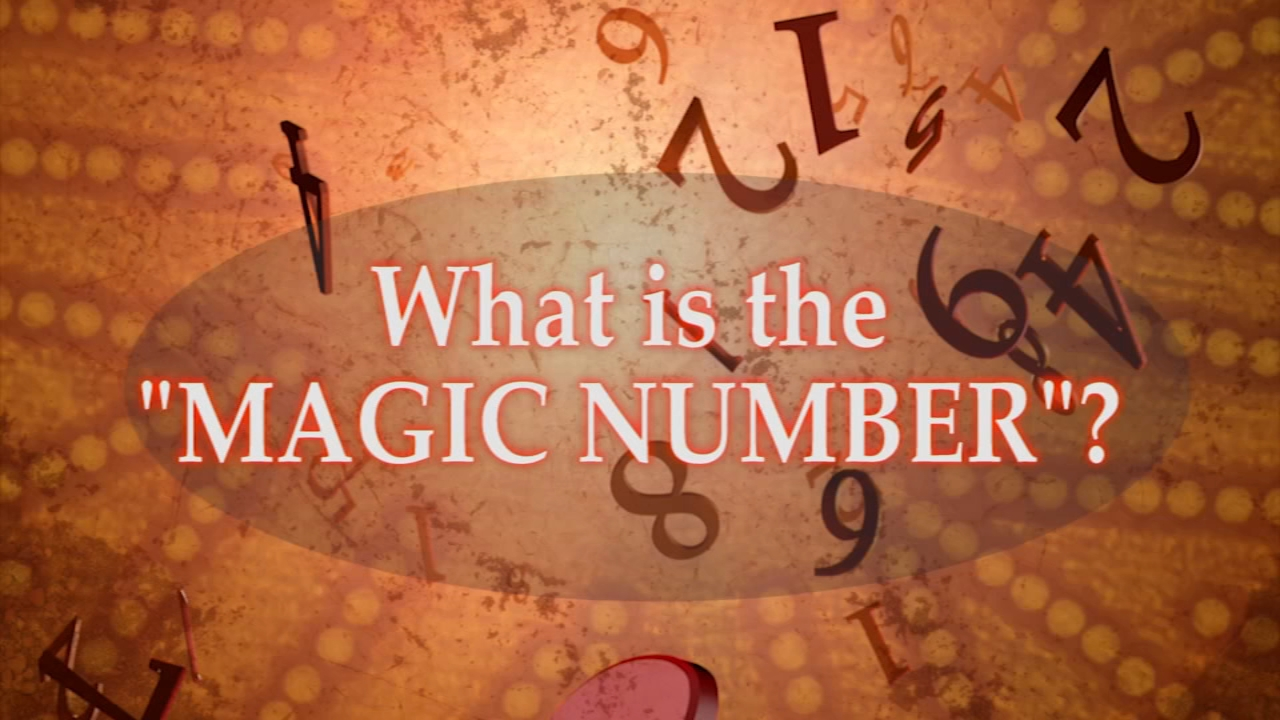 Sports fans use the magic number to determine when a team clinches a playoff spot or a division title.