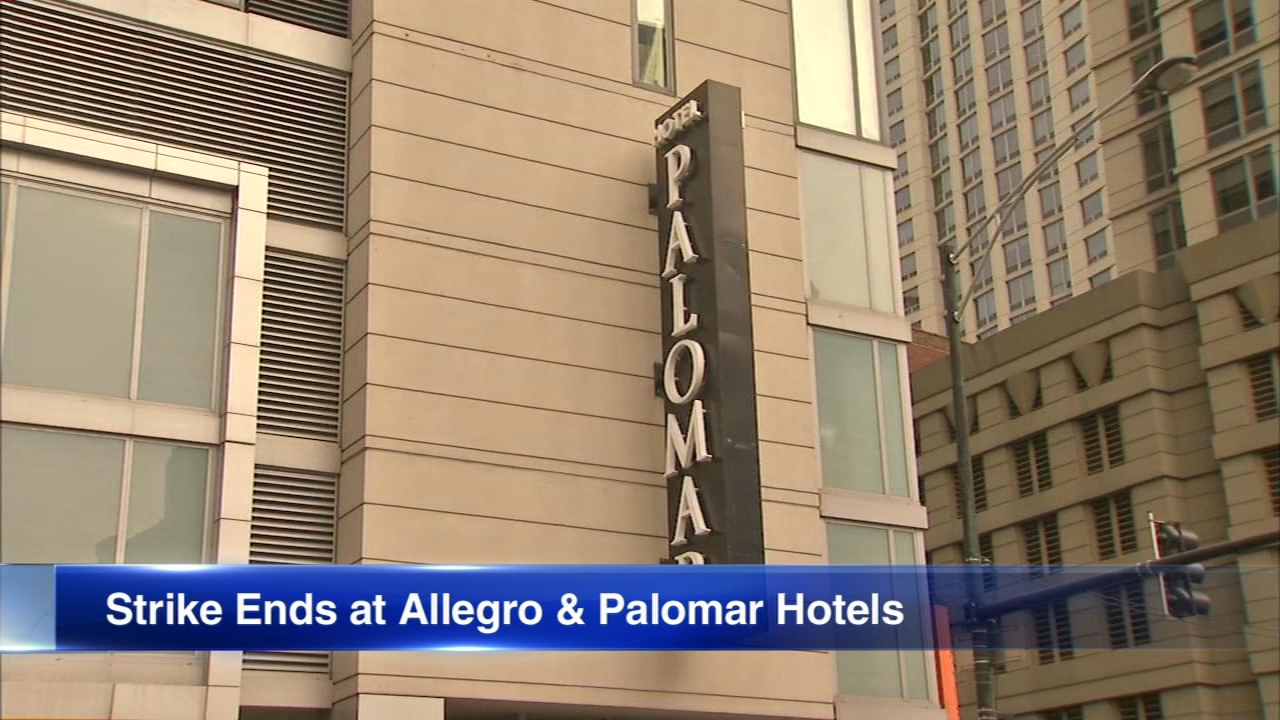 Employees at 2 more Chicago hotels are going back to work.