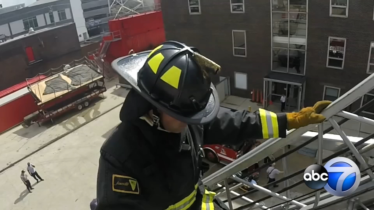 Training at the Chicago Fire Departments Quinn Fire Academy proved just how physically trying this job can be.
