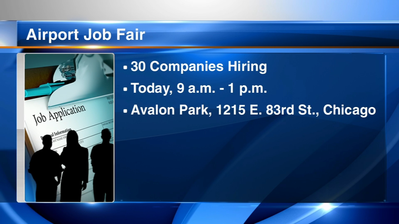 If youre looking for work, hundreds of positions at OHare and Midway are available right now.