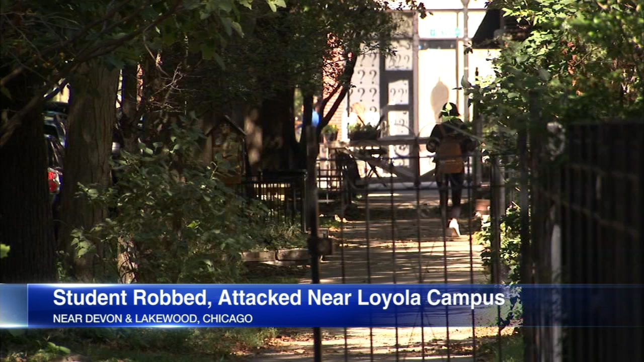 Some Loyola University students are on edge after a violent robbery near campus that university police did not notify them about.