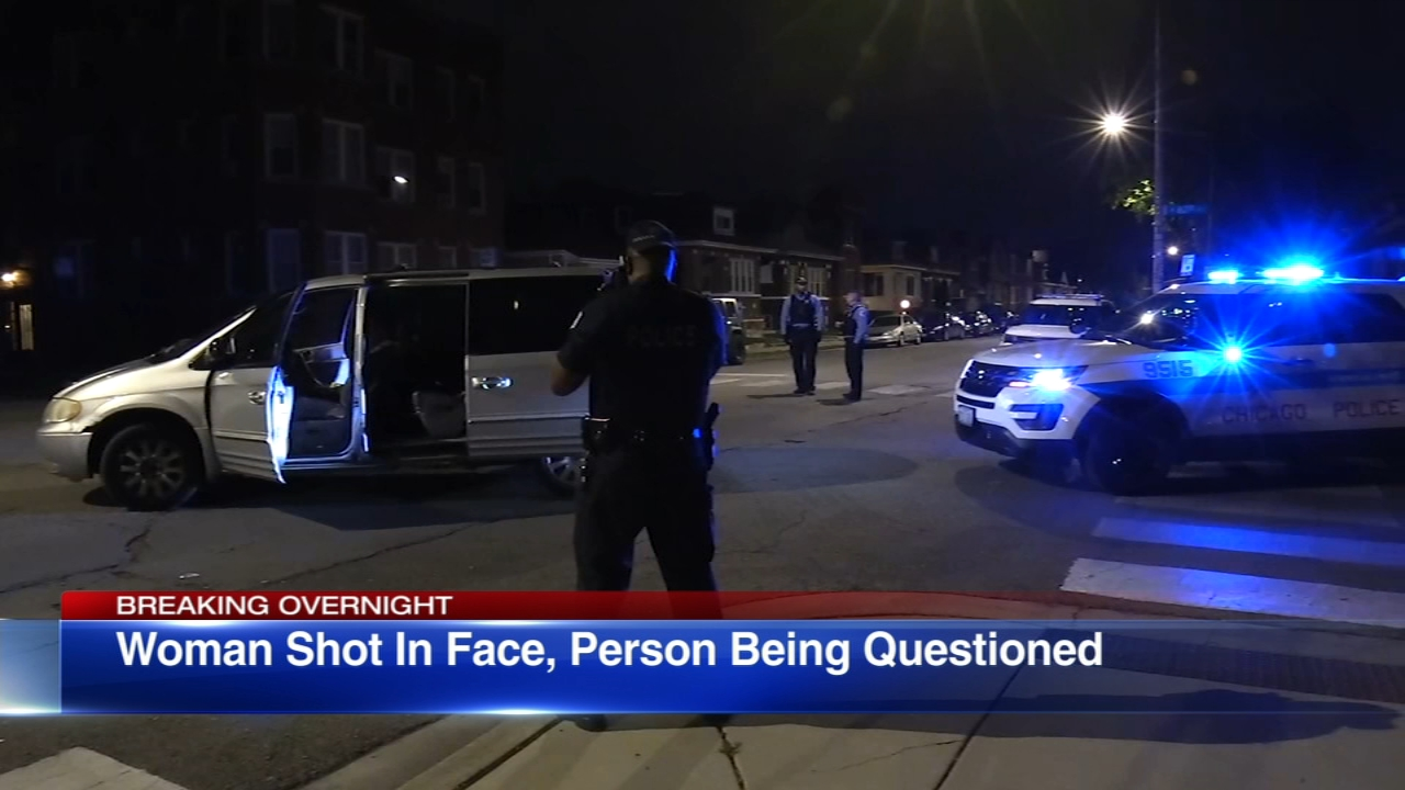 A drive-by shooting injured a woman riding in a vehicle on the citys South Side.