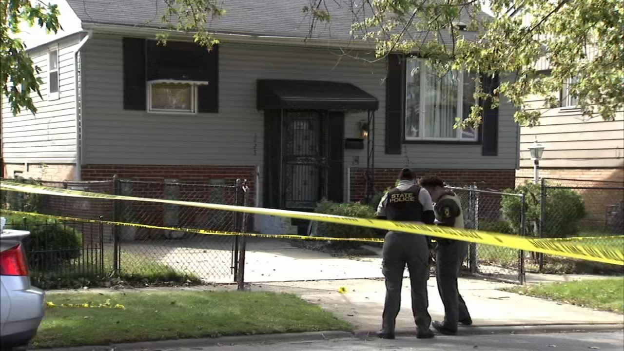 A man was found dead on a living room couch in a house where he sometimes stayed to help care for an ailing relative.