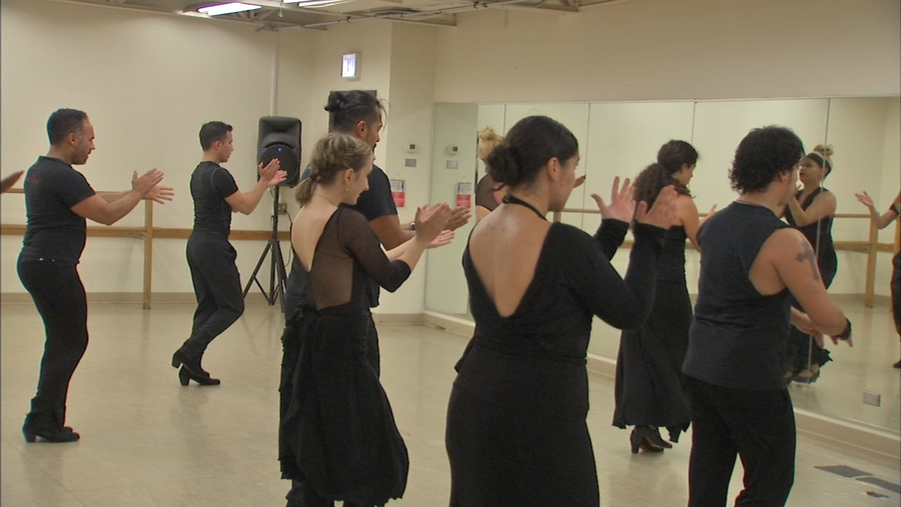Ensemble Espanol tours the country and globe teaching the art of traditional Spanish dance.
