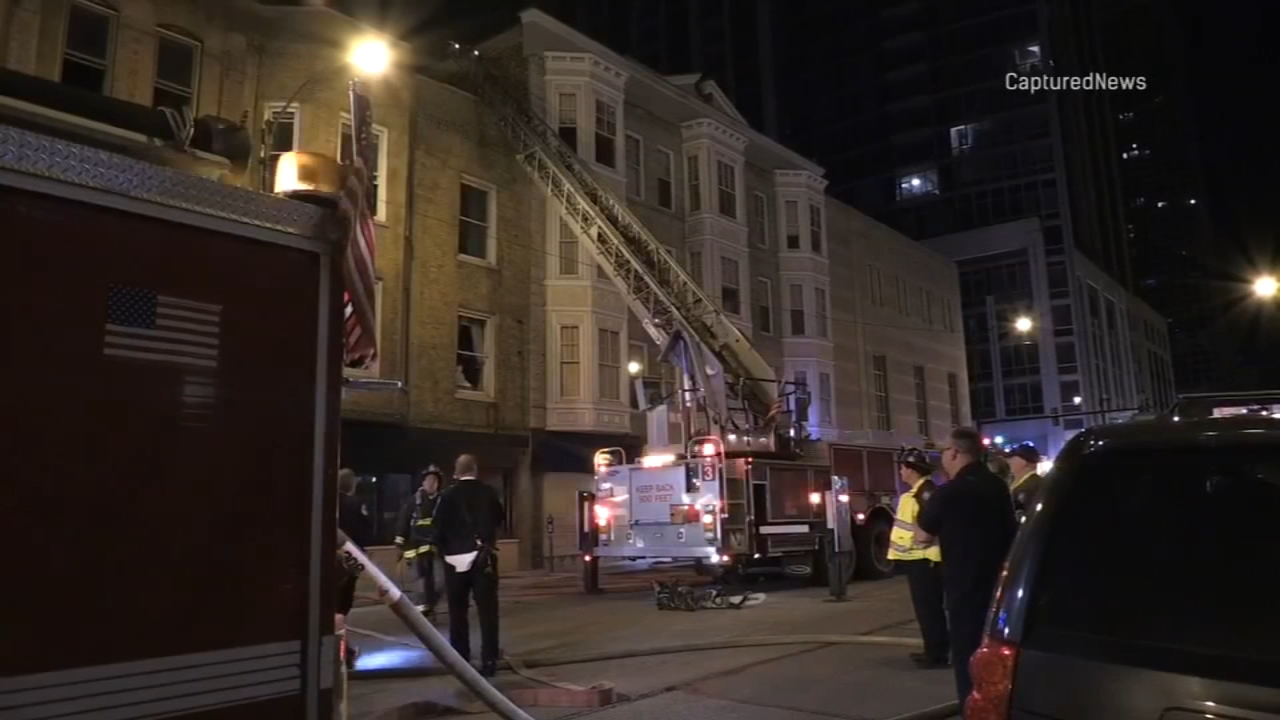 A space heater sparked an apartment fire in the Near North Side.
