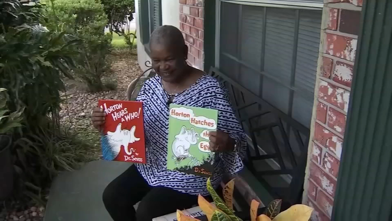 A late delivery meant that a grandmother who ordered books for her granddaughter can now read them to her great-grandson.