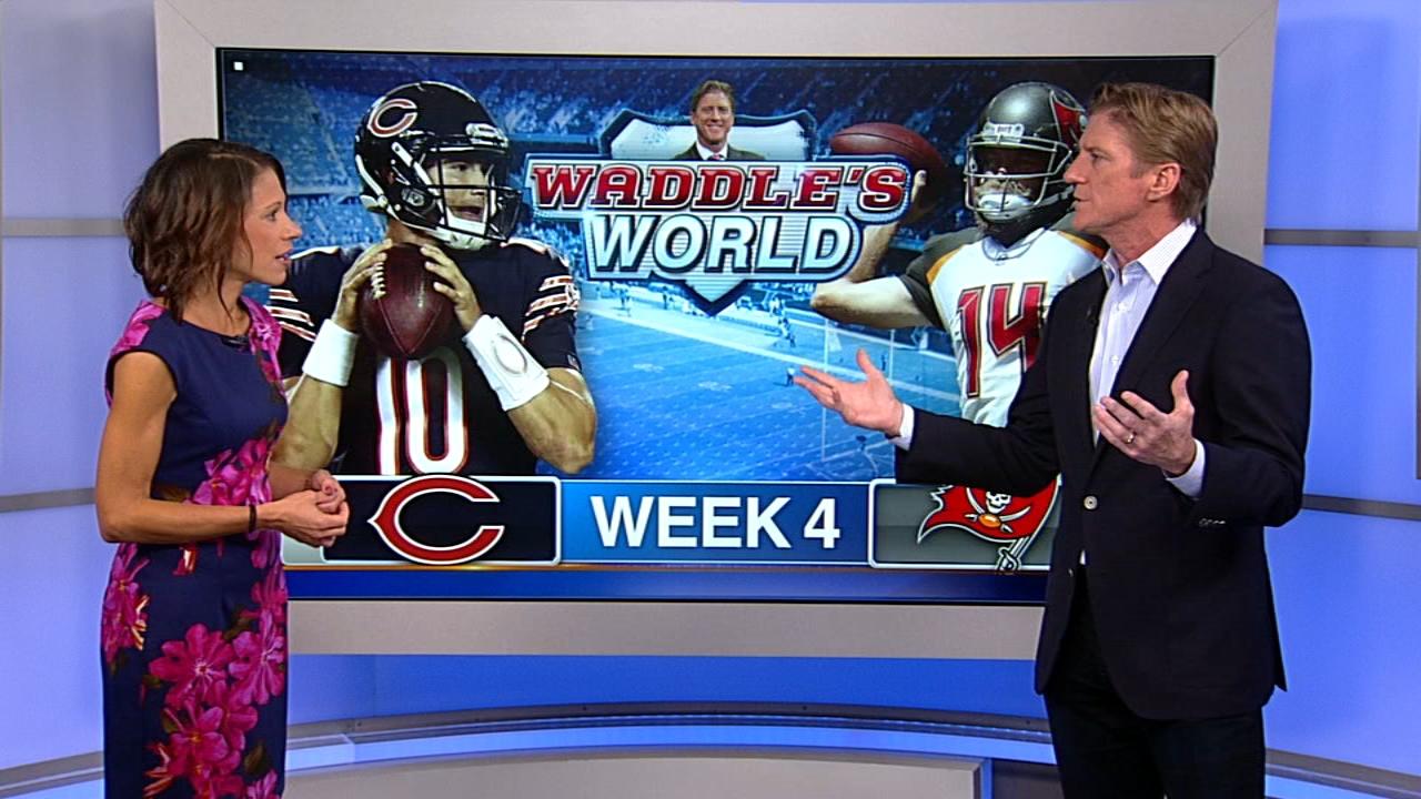 Waddle's World: Bears beat Buccaneers, 48-10