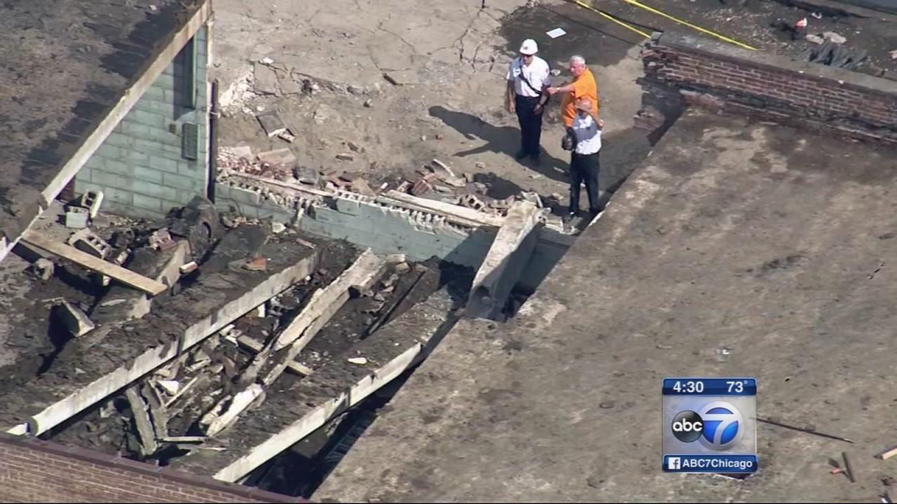 1 dead after building collapse