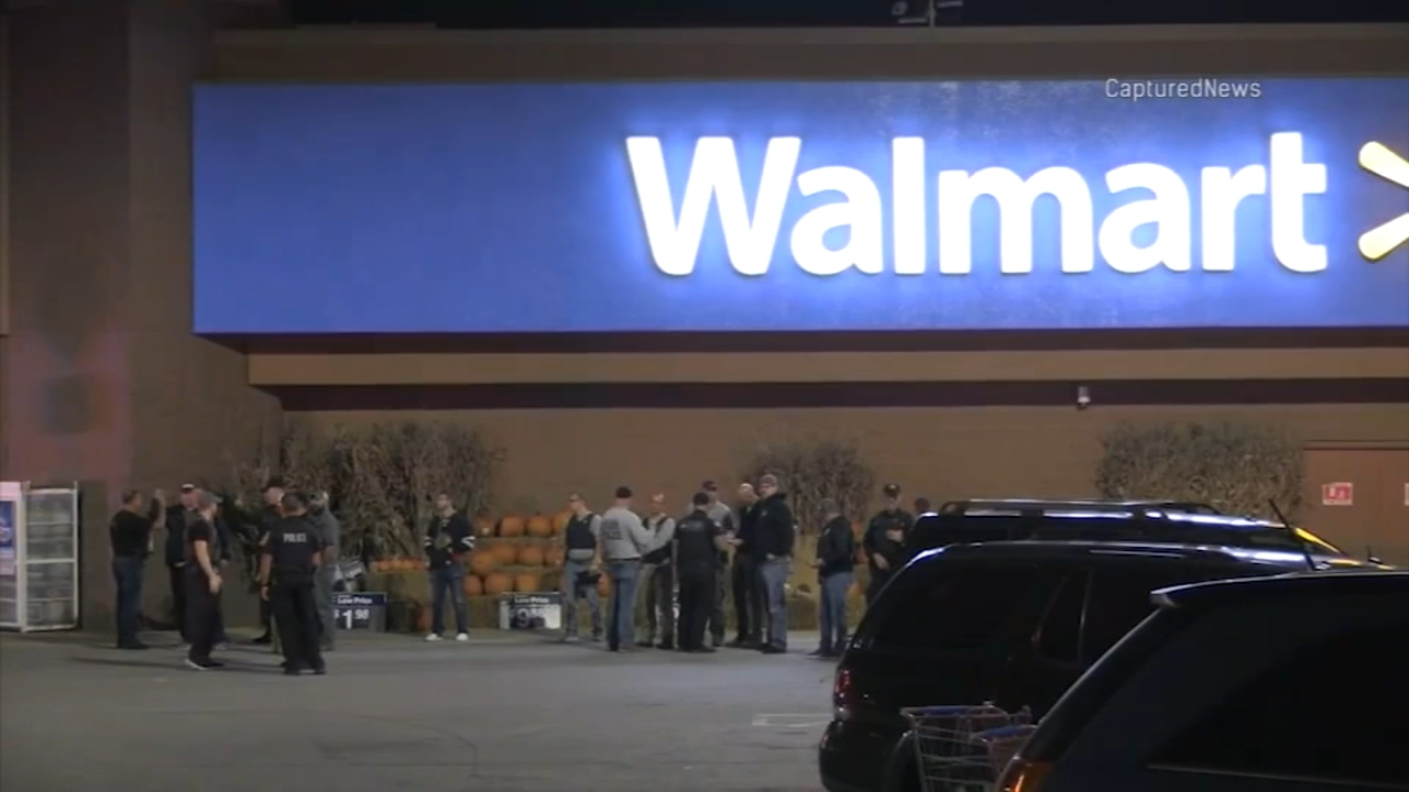 Two people were shot in a shooting in a Walmart in Hobart, Indiana.