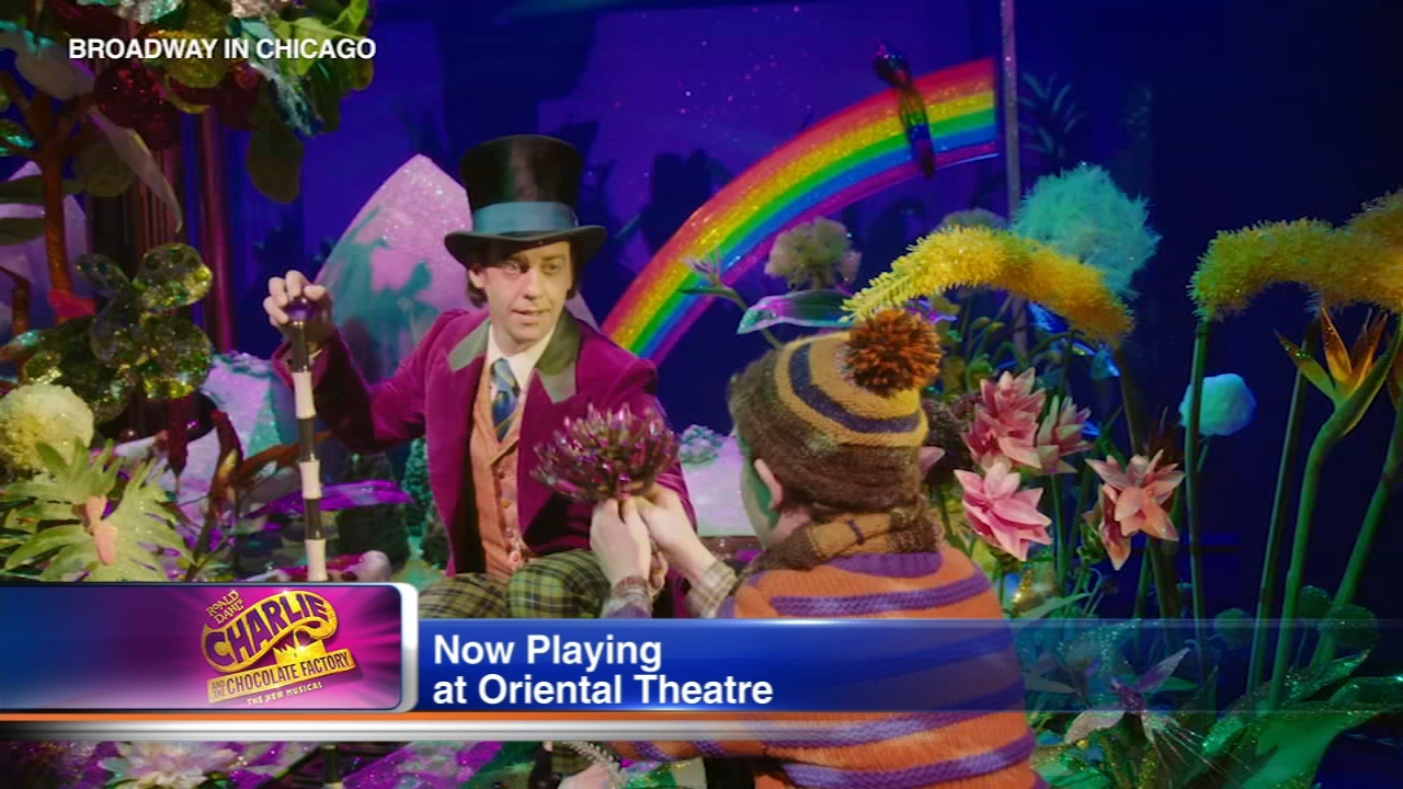 Charlie and the Chocolate Factory runs Oct. 2-21 at the Oriental Theatre in Chicago.