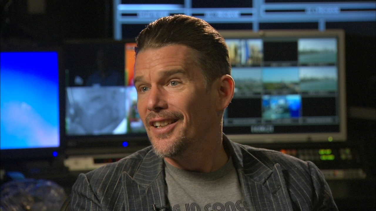 Ethan Hawke is a talented actor, but hes getting rave reviews for directing the new movie Blaze.