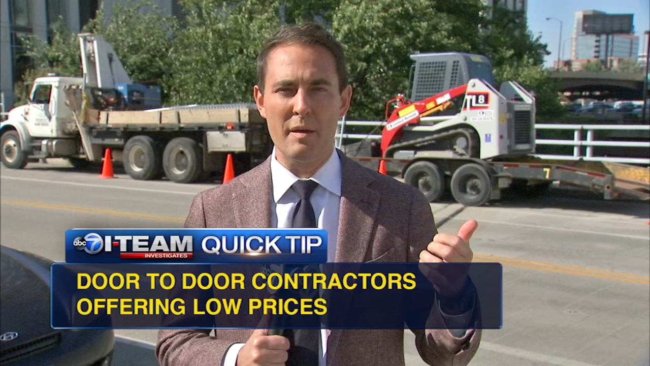 Heres an I-Team quick tip after the BBB issued a warning about home improvement scams.