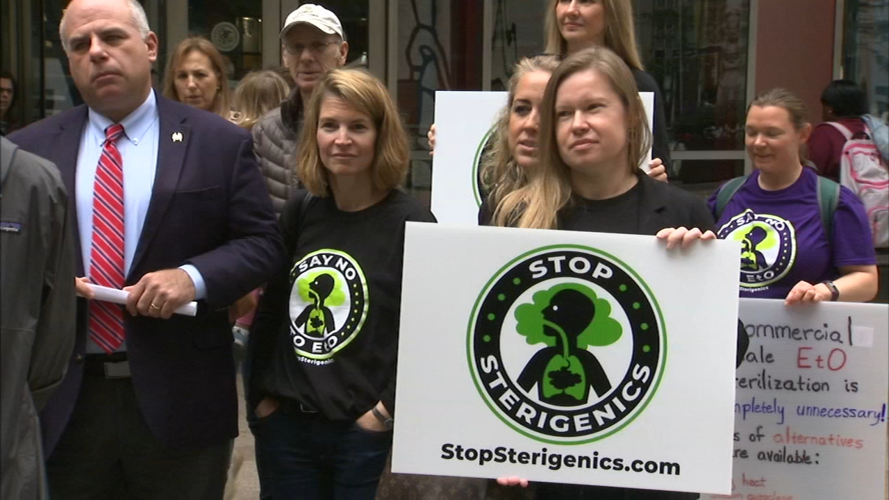 The Illinois EPA has ordered Sterigenics to cease operations in Willowbrook until their investgiation into carcinogenic emissions is completed, as political pressure mounts to clos