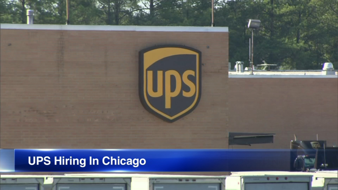 UPS is hiring more than 4,000 people in the Chicago area for the upcoming holiday season.