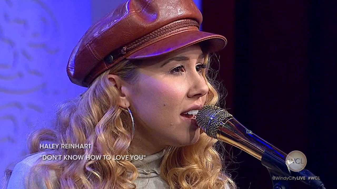 American Idol alum and Chicago native, Haley Reinhart, stops by Windy City LIVE to perform her new single, Dont Know How to Love You.