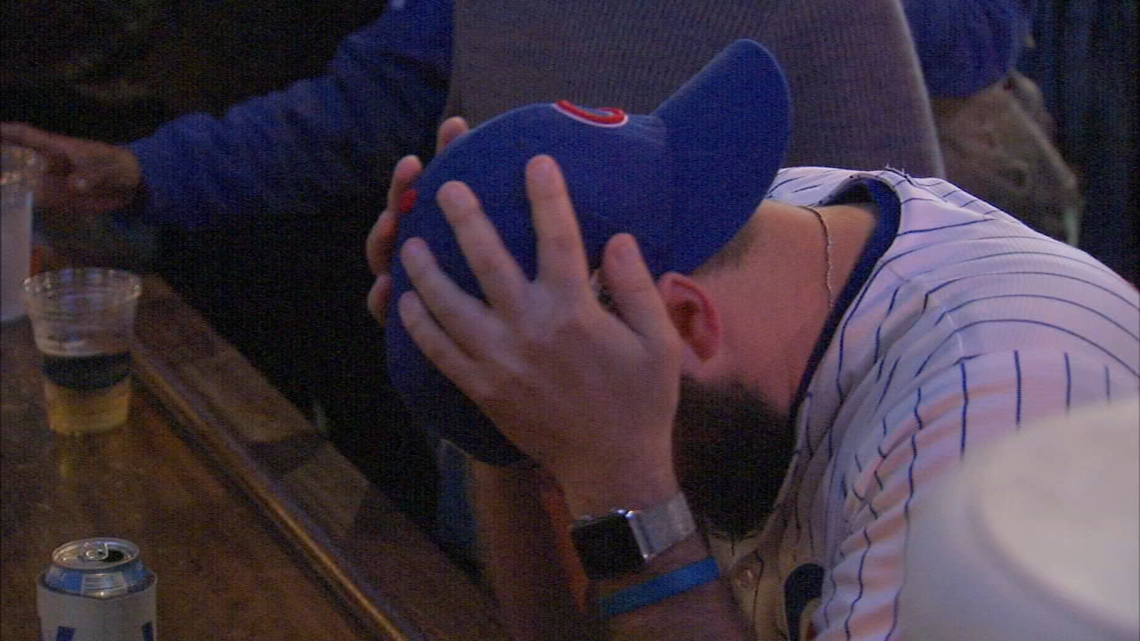 Chicago Cubs fans left Wrigley Field disappointed after the team lost tot he Colorado Rockies in the NL Wildcard game.