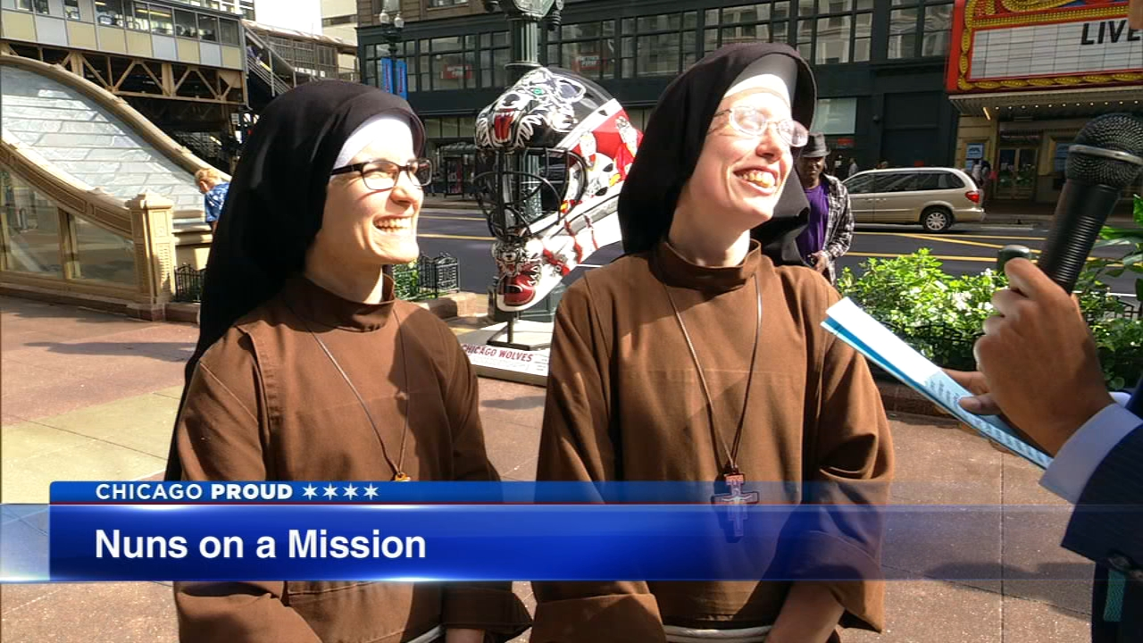 Sister Stephanie Baliga and Sister Alicia Torres are fundraising to pay for renovations to the Mission of Our Lady School building in Chicagos West Humboldt Park neighborhood.