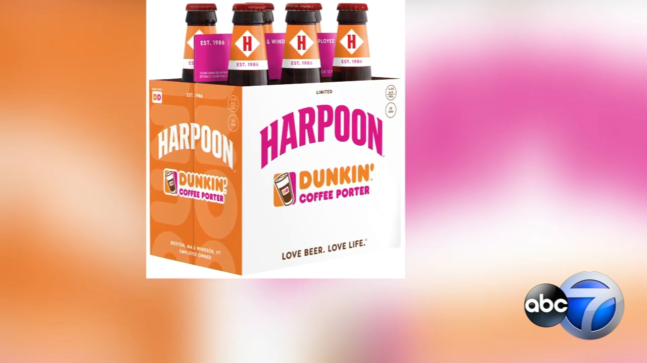 Dunkin Donuts and Harpoon Brewery have collaborated on a new coffee beer available for a limited time this fall.