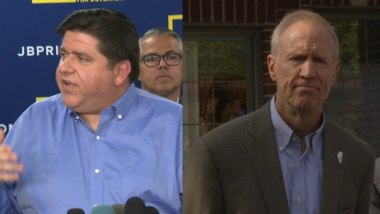 Illinois gubernatorial candidates JB Pritzker and incumbent Republican Bruce Rauner continued trading blows Thursday, accusing each other of engaging in criminal behavior.